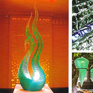 Art glass, glass Artist, masterpiece, glass sculpture